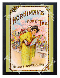 Historic-Horniman-039-s-Pure-Tea-1900s-Advertising-Postcard