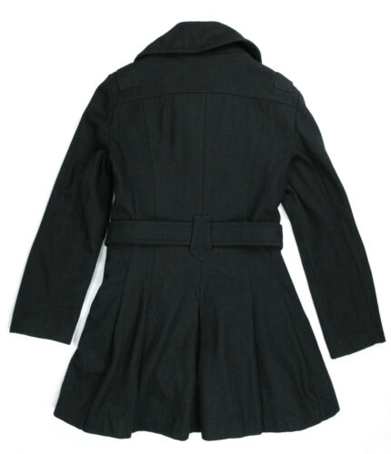 Coat Double Black Womens Used Style L Breasted Miss Sixty Size Military qttUnEgrx