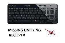 Logitech K360 Wireless Keyboard - Black