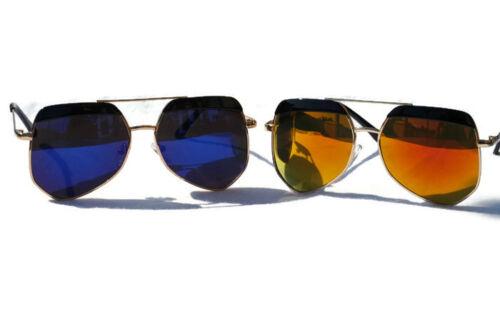 Kids Children Polarized Aviator Reflective Sunglasses Shades W// Case AGES 3-10
