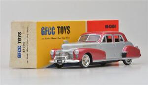 Boy-039-s-gift-GFCC-TOYS-1-43-1941-Cadillac-Fleetwood-Silver-Alloy-car