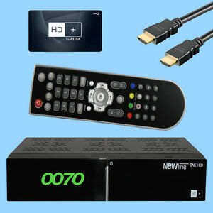 HD PLUS Sat Receiver ++ HD Karte ++ USB HDMI LAN SCART Private Sender FULL 1080p | eBay