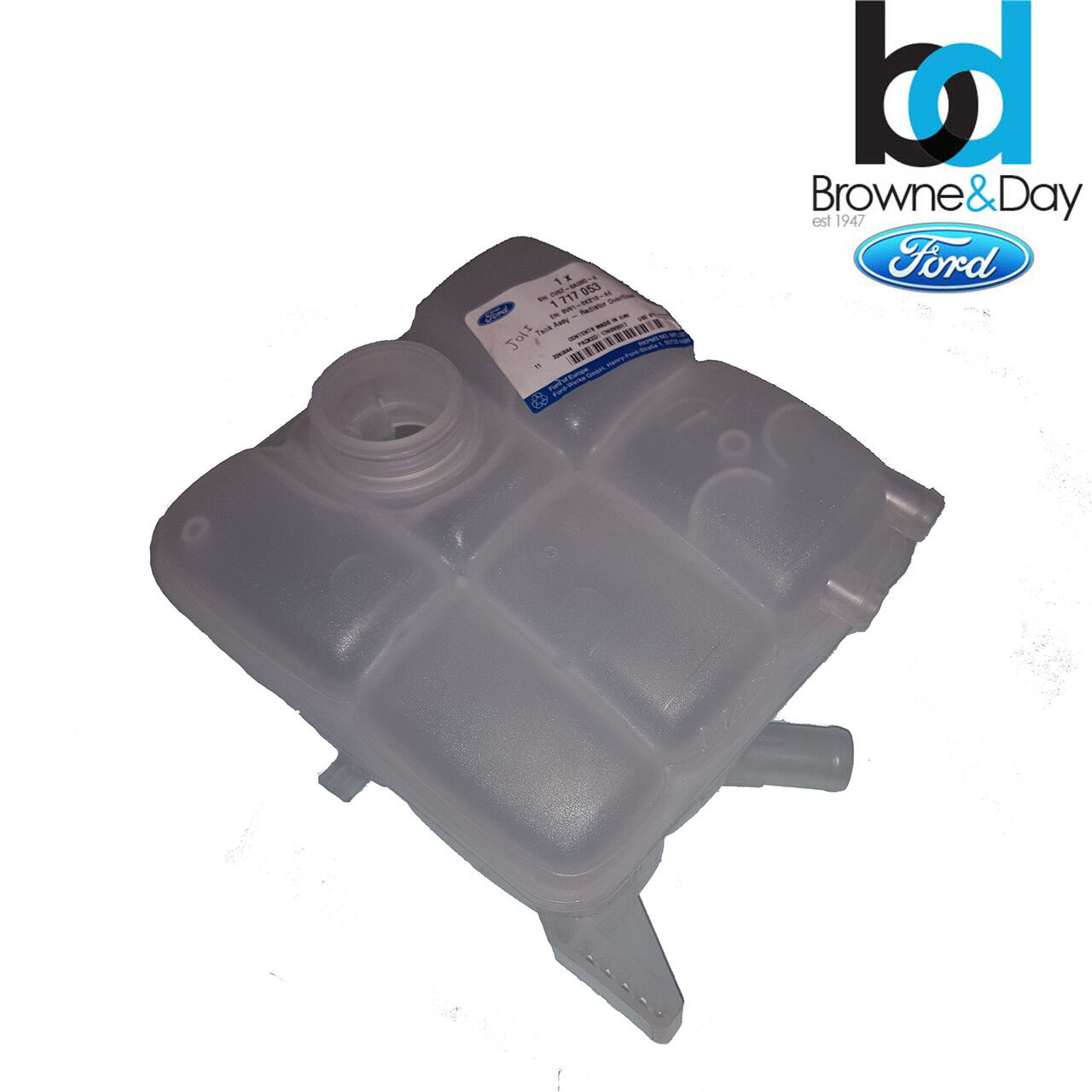 Genuine Ford Radiator Coolant Overflow Container Clip 4052804