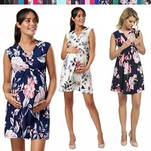54621e38bf9 Image is loading Happy-Mama-Women-039-s-Maternity-Nursing-Skater-