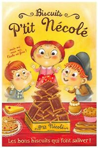 CP Illustration Amandine Piu Biscuits P'Tit Nécolé Edit Of May