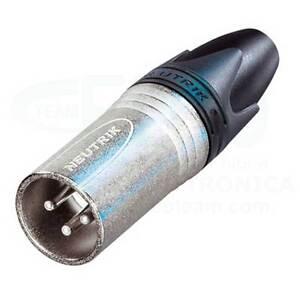 NEUTRIK-NC3MXX-Connecteur-Male-Volant-Cannon-XRL-3-poles