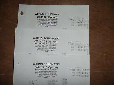 Bobcat S250 S300 Skid Steer Electrical Wiring Diagram Schematic Manual  526011001 | eBayeBay