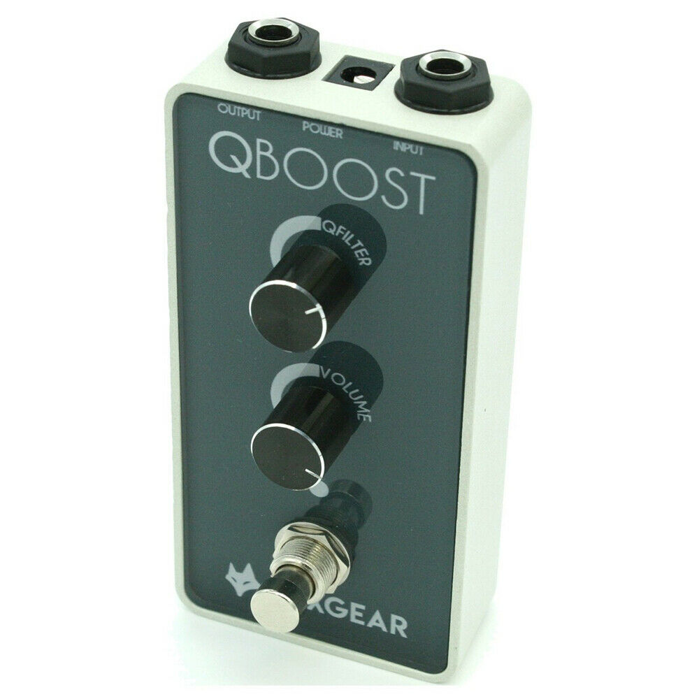 FoxGear Qboost Frequecy Specific Boost Guitar Effects Pedal