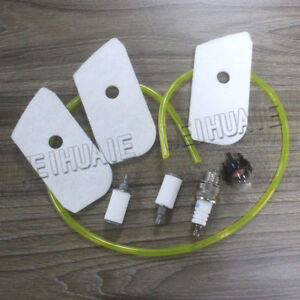 Details about Air Fuel Filter Tune Up Kit For Husqvarna 124L 125E 125L 128L  128CD 128LD 128LDX