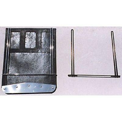 Go Industries 70732 Dually Rear Mud Flaps /& Brackets For 01-17 GM 2500HD//3500