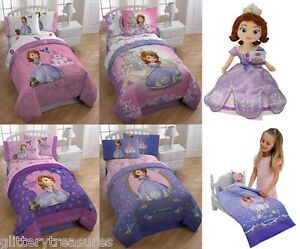 Image Is Loading Disney Sofia The First Bed In A Bag