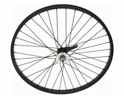 BICYCLE HEAVY DUTY REAR WHEEL 26 X 2.125 x 12G ALLOY BLACK COASTER BRAKE NEW !