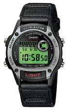 Casio W94HF-8A Unisex Adult Kid's Fabric Band Sports Alarm Chrono Digital Watch