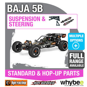 2PCS HPI RACING BAJA 5B 5B-1 86437 SHOCK SHAFT 4X105MM GENUINE NEW PART!