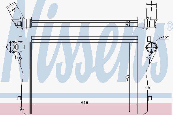 Nissens 96420 Intercooler AUDI A3 2.0 TFSI   03-
