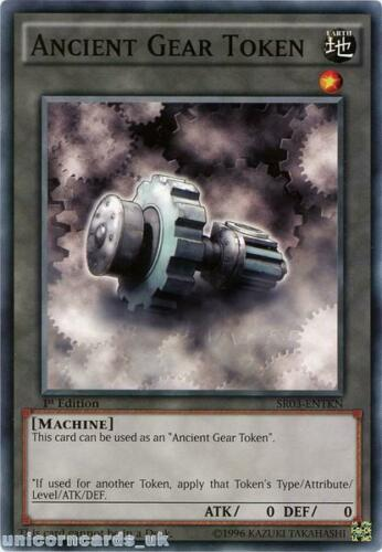 SR03-ENTKN Ancient Gear Token UNL Edition Mint YuGiOh Card