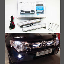 5 LED DRL UNIT HIGH POWER DAY TIME RUNNING LIGHT FRONT GRILL BUMPER UNIVERSAL