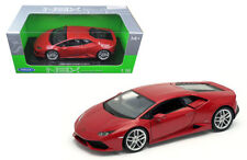 Welly 1/18 Scale Lamborghini Huracan LP610-4 Red Diecast Car Model 18049