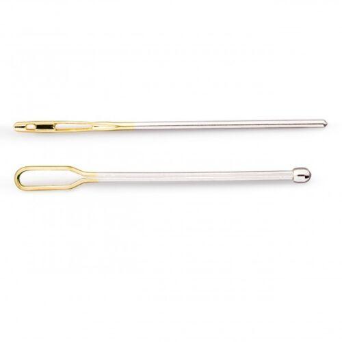 mediante agujas de arrastre acero plata de colores 2 formas 1,20 €//1stk