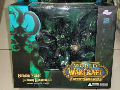 World of Warcraft Demon Form-Illidan Stormrage Action Figure Figure Figure Toys 8.6   With Box 991e16