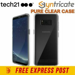 Tech21 PURE CLEAR BULLETSHIELD SLIM TOUGH CASE FOR GALAXY S8+PLUS (6.2) - CLEAR