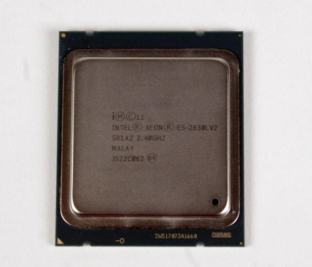 Intel Xeon E5-2630L v2 Hexa-core 2.40 GHz Processor w// Socket R /& 15MB Cache