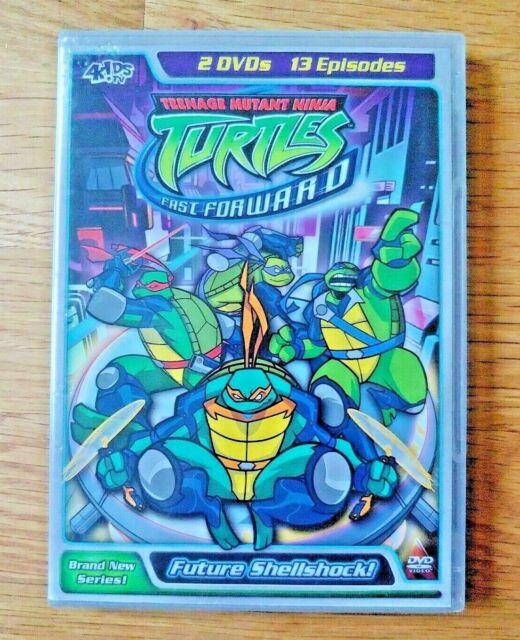 Teenage Mutant Ninja Turtles Ninja Tribunal Dvd 2 Disc Set