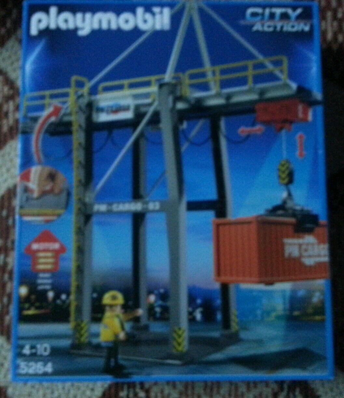 Playmobil No. 5254 Elektrisches Verladeterminal Weihnachten Geschenk Kinder  | Innovation