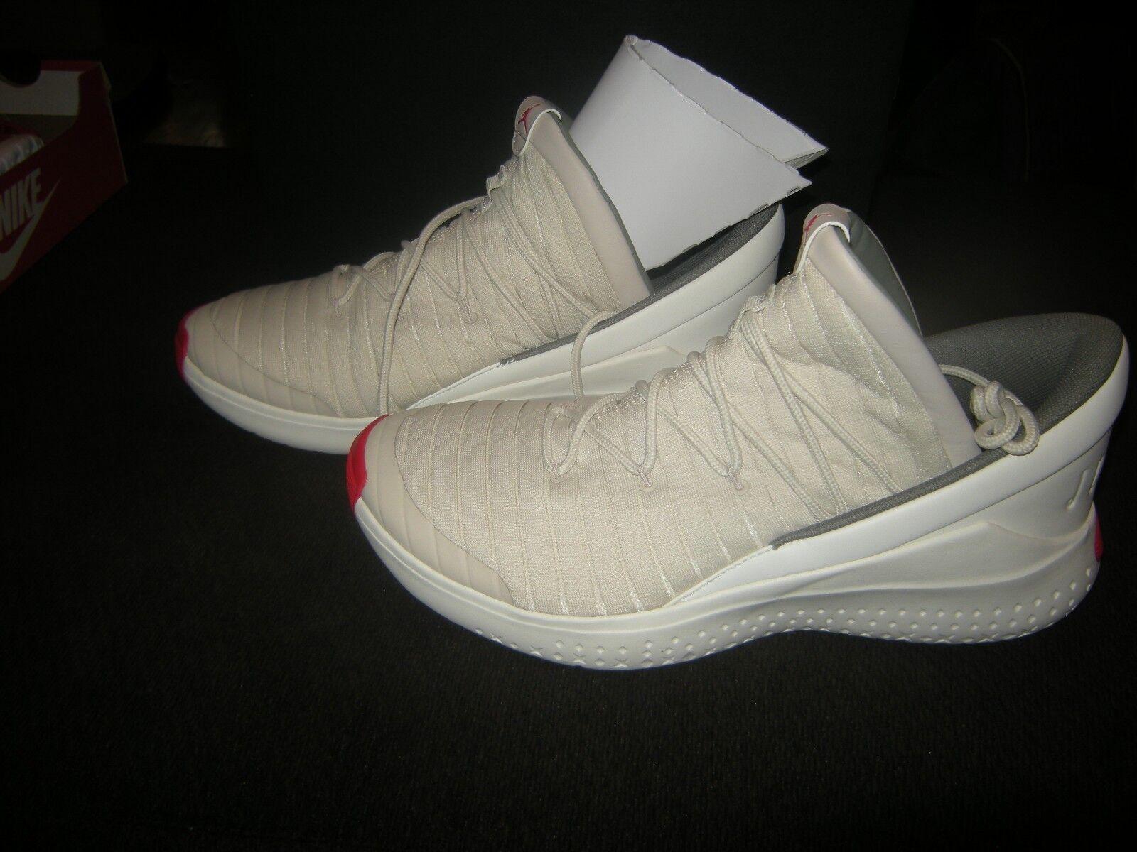 Brand New Mens Off White Nike Jordan Flight Luxe Tennis Shoes, 10.5