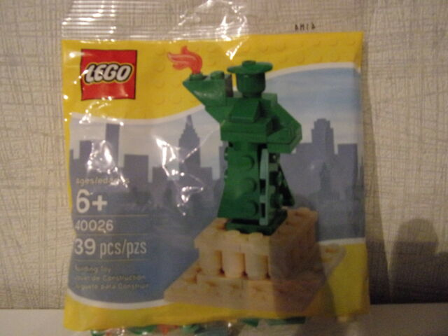 Lego 40026 Statue of Liberty / Freiheitsstatue (Polybag) - Neu+OVP