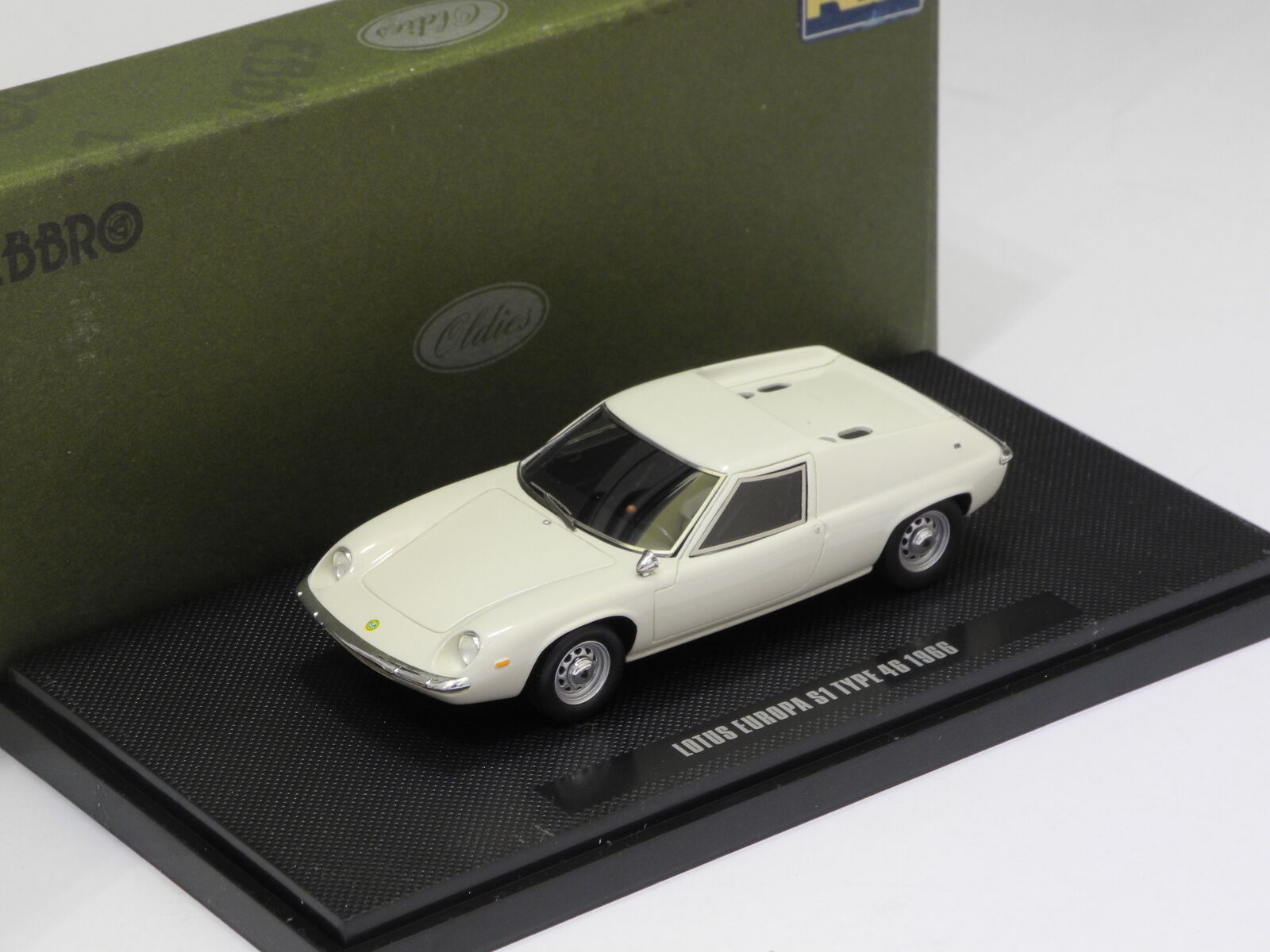 LOTUS EUROPA S1 OLD ENGLISH bianca EBBRO Model   44278