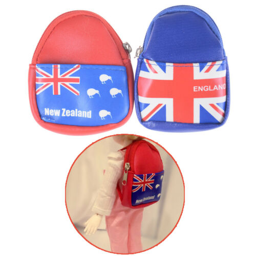 Fashion Doll Bag Backpack For 1//6  Blythe Accessory Mini Coin Bag DollIJ