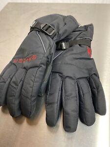 Large, XL Spyder Mens Performance Bolster Ski Snowboard Winter Gloves