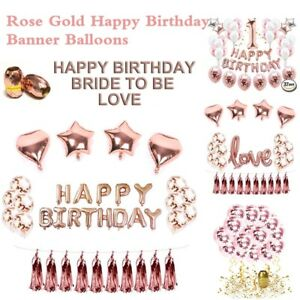 Rose-Gold-Heart-Balloon-Foil-Champagne-Balloon-Happy-Birthday-Party-Decor-New