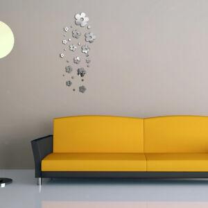 Removable-Mirror-Flowers-Wall-Sticker-Vinyl-Art-Decal-Home-Bathroom-Decor