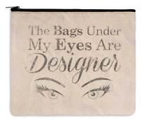 Cosmetic Makeup Travel Bag - Designer Bags - Canvas Zippered