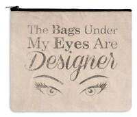 Cosmetic Makeup Travel Bag - Designer Bags - Canvas Zippered