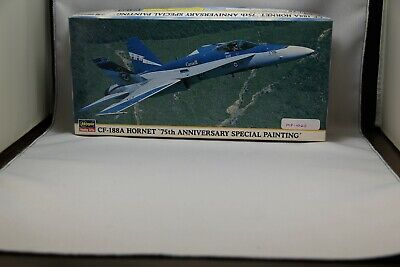 Hasegawa 1//72 CF-18A Hornet Battle of Britain 75th Model Anniversary Kit