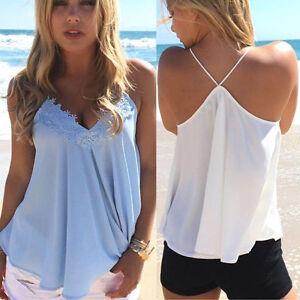 Fashion-Women-Summer-Chiffon-Vest-Sleeveless-Shirt-Blouse-Casual-Vest-Tank-Tops