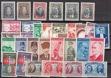 Turkey - Scott 775 // 840 Mint hinged sets (Catalog Value $101.00)