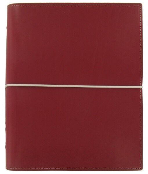 Filofax Terminplaner Domino A5 in rot | Nutzen Sie Materialien voll aus  | Exquisite (mittlere) Verarbeitung  | Deutschland Shops