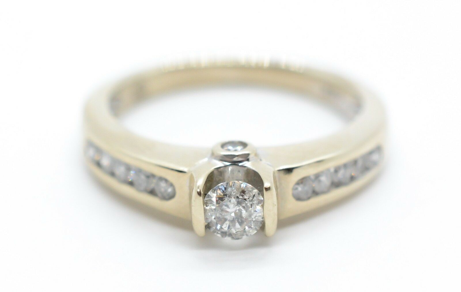 Diamanten Echtschmuck Trauringe Eheringe Aus 585 Gold Bicolor Mit Diamant & Gratis Gravur A19013495