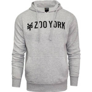 Details zu Official Zoo York Francis Men's Pullover HoodieHooded SweatshirtTracksuit Top