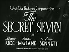 THE SECRET SEVEN (1940) DVD BRUCE BENNETT, FLORENCE RICE