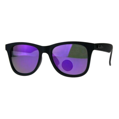 Polarized Premium Kush Couleur Miroir Corne Rim Hipster Gangster Lunettes de soleil