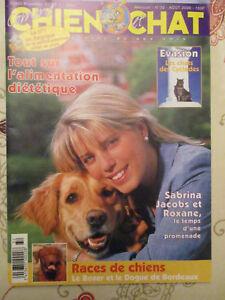 Revue Comme Chien Et Chat : Aout 2000 - Sabrina Jacobs - Pratique - Comportement Seempmw8-07230729-229260690