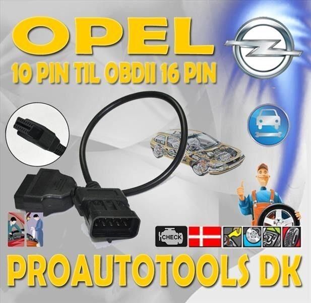 Opel Diagnostik Adapter kabel 10 Pin
