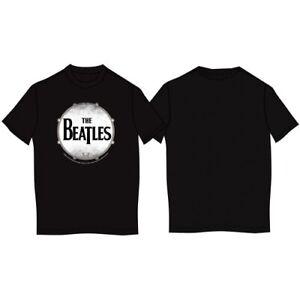The Beatles Drum Skin Official Merchandise T-Shirt M/L/XL - Neu