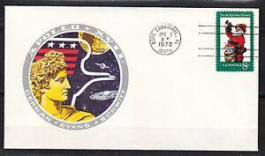 United-States-1972-Dec-7-space-cover-Apollo-XVII-launch-NASA-history