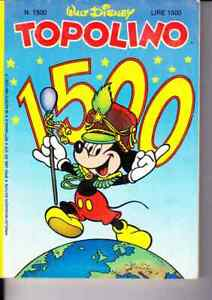 1984 08 26 - Topolino - 26 Agosto 1984 - N.1500 - Disney Ventes Bon Marché